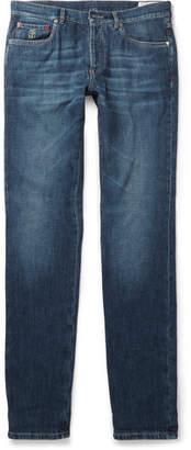 Brunello Cucinelli Slim-Fit Washed-Denim Jeans