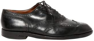 Alden Vintage Black Leather Lace ups
