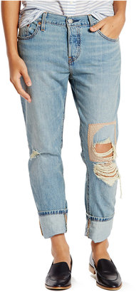Levi's® 501® CT Customized Tapered Boyfriend Jeans $64.50 thestylecure.com
