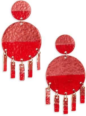 Panacea Circle Drop Earrings