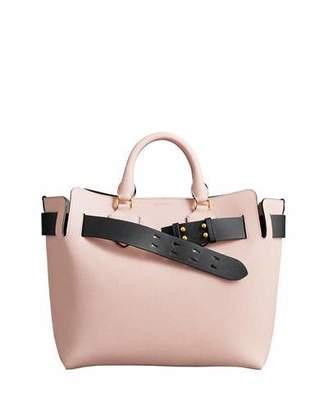 Burberry Marais Medium Belt Top Handle Bag, Light Pink