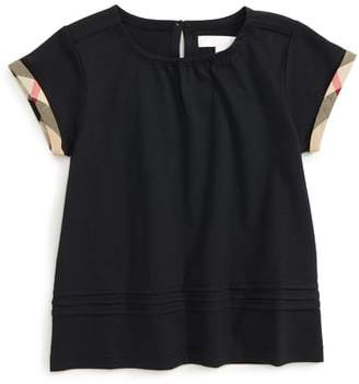 Burberry Gisselle Cuff Sleeve Tee