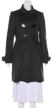 Burberry Virgin Wool Toggle Coat