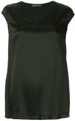 Fabiana Filippi plain v-neck blouse