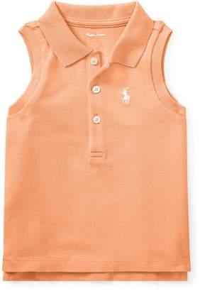 Ralph Lauren Mesh Sleeveless Polo Shirt