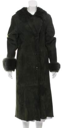 Fur Shearling Long Coat