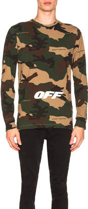 Off-White Off White Off Long Sleeve Tee