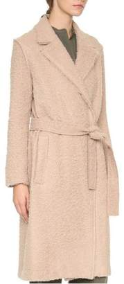 Helmut Lang Shaggy Wool Coat