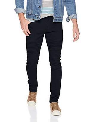 Southpole Men's Biker Flex Twill Jeans
