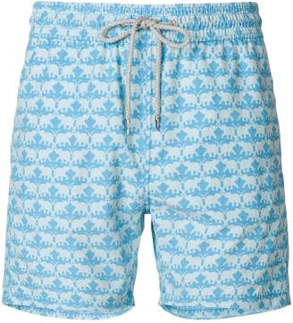 Love Brand elephant print swim shorts