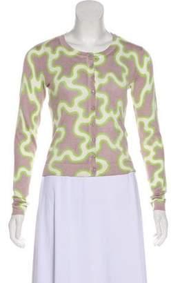 Diane von Furstenberg Silk-Blend Ibiza Cardigan