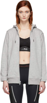 adidas by Stella McCartney Grey Essentials Hoodie