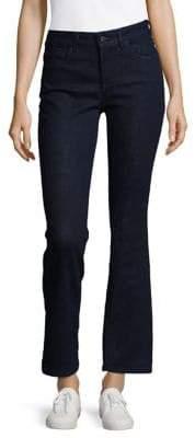 NYDJ Petite Mid-Rise Flared Jeans