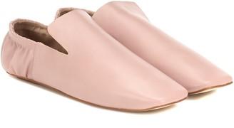 Nanushka Noa faux leather loafers