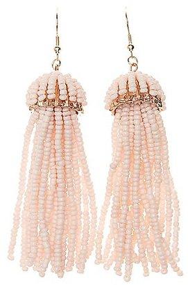 Beaded Tassel Earrings $6 thestylecure.com