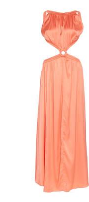 Cult Gaia Theia Keyhole Cutout Gown
