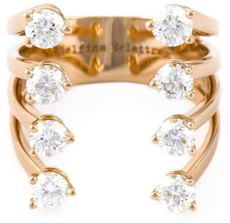 Delfina Delettrez diamond 'Dots' ring