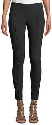 Valentino Wool-Stretch Side-Zip Skinny Pants