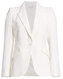 Alexander McQueen Women's One-Button Jacket