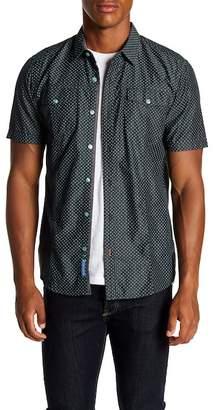 ProjekRaw Projek Raw Diamond Short Sleeve Modern Fit Shirt