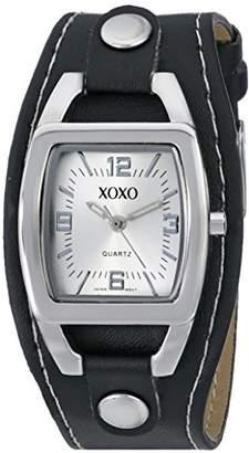 XOXO Women's XO3169 Dial Black Strap Watch