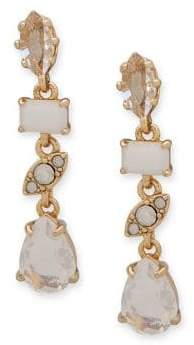Jenny Packham Crystal Stone Linear Drop Earrings