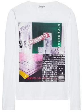 Sonia Rykiel Printed Cotton-Jersey Top