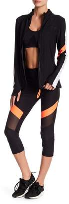 C&C California Marathon Colorblock Capri Leggings