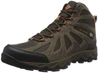 Sorel Columbia Men Peakfreak Xcrsn Ii Mid Leather Outdry High Rise Hiking Boots, Brown (Cordovan, Bright Copper 231)
