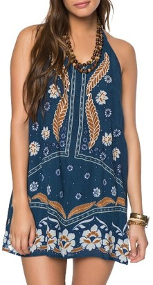 Women's O'Neill Ellison Embroidered Shift Dress $59.50 thestylecure.com