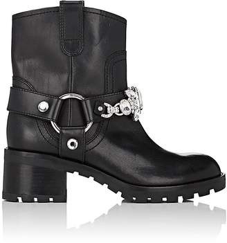 Marc Jacobs Women's Campbell Harness-Strap Leather Ankle Boots