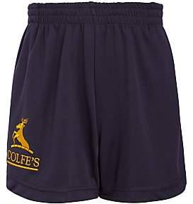 AG Jeans Unbranded Colfe's School Girls' PE Shorts, Navy