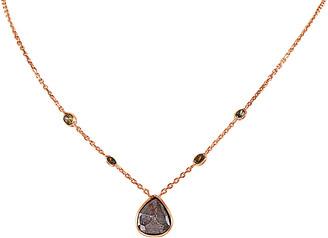 Sabrina Designs 14K Rose Gold 3.30 Ct. Tw. Diamond Necklace