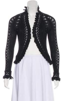 Chanel Ruffled Long Sleeve Shrug