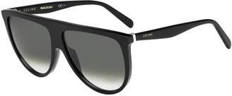 Celine Sunglasses 41435/S 0807 /XM green degrade lens