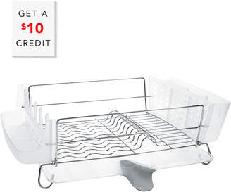 OXO Good Grips Folding Stainless Steel Dish Rack With $10 Rue Credit