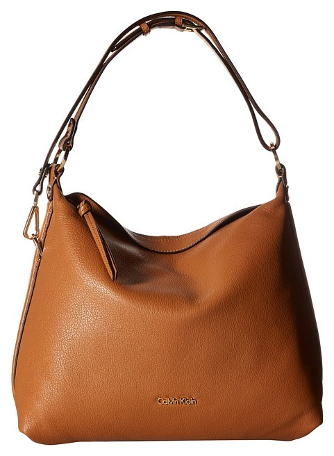 Calvin Klein Calvin Klein - Pebble Leather Hobo Bag Hobo Handbags