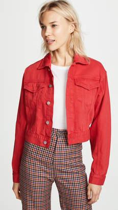 DL1961 Annie Cropped Denim Jacket