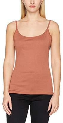 New Look Women's Shoestring Cami Vest Top,(Manufacturer Size: M)