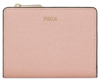 Furla Small Babylon Saffiano Leather Zip Around Wallet