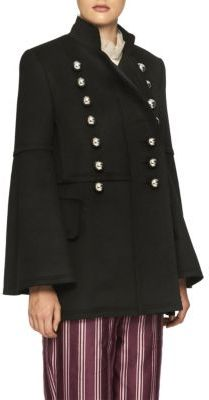 Burberry Military Wool Jacket $2,795 thestylecure.com