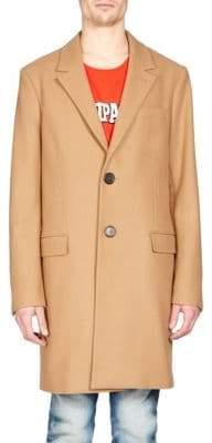Ami Wool-Blend Overcoat