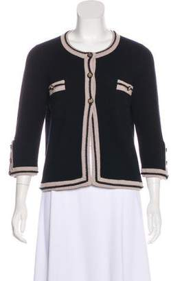 Chanel Paris-Venice Cashmere Cardigan