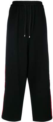 Unconditional side stripe loose trousers