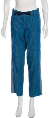 Tory Burch Mid-Rise Casual Joggers