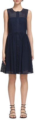 Whistles Cotton Broderie Dress $280 thestylecure.com