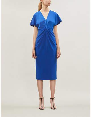 Ted Baker Ellame wrap-waist crepe dress