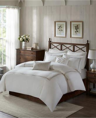 Jla Home Harbor House Burke 5-Pc. Full/Queen Cotton Duvet Set Bedding