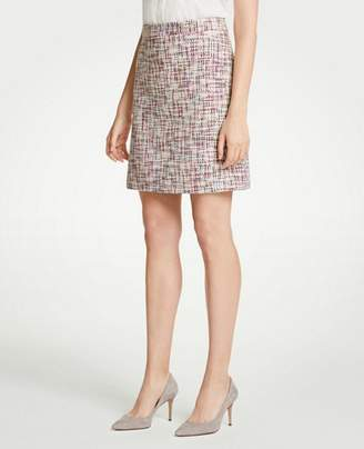 Ann Taylor Rainbow Tweed Skirt