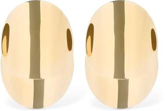 Giorgio Armani Circle Metallic Earrings